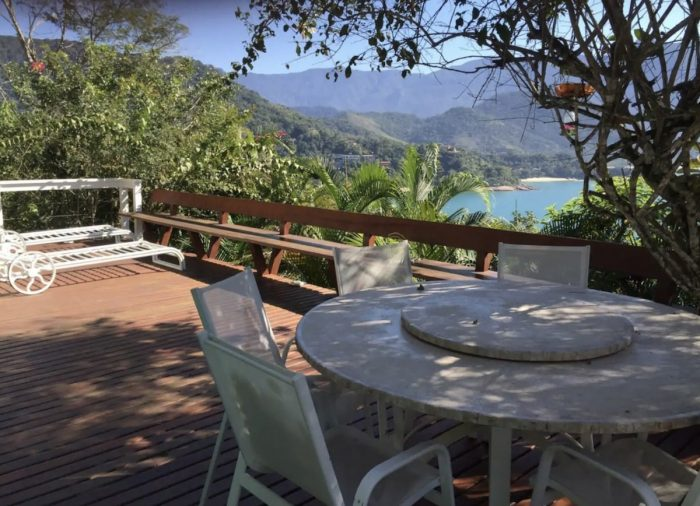 Ubatuba vacation rental with a view