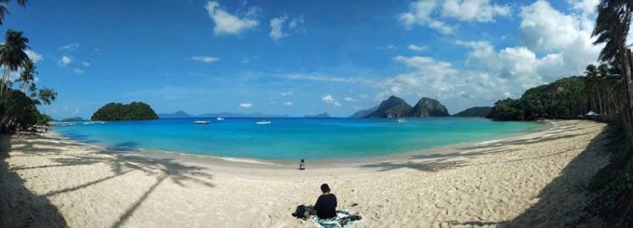 Vanilla Beach in El Nido, Palawan