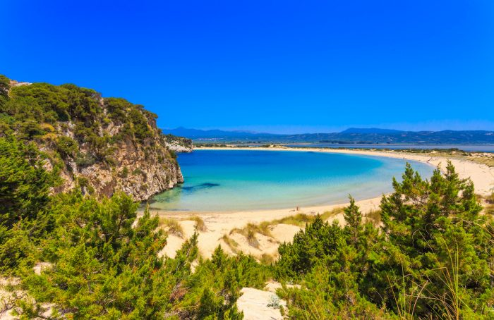 Voidokilia Beach via Depositphotos