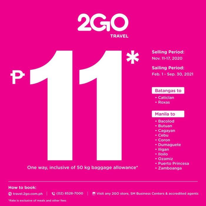 2GO Travel 11 Sale