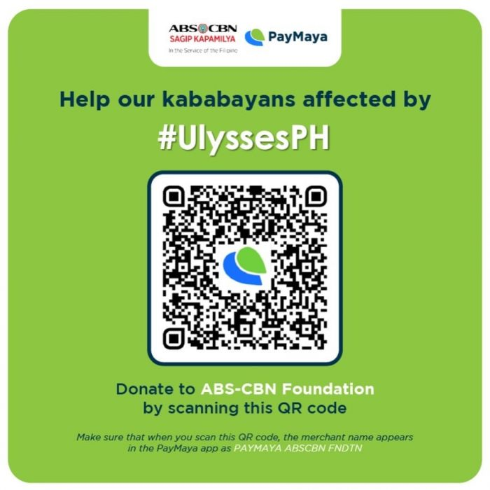 ABS-CBN Foundation via PayMaya