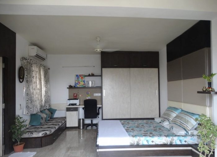 Casa de familia en Ahmedabad Terrace Garden