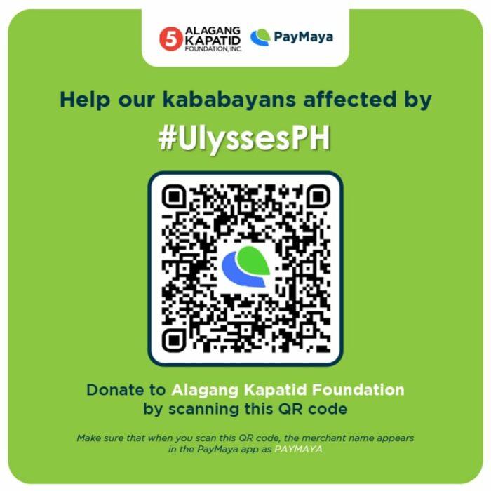 Alagang Kapatid Foundation via PayMaya