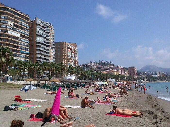 Strände in Malaga Spanien