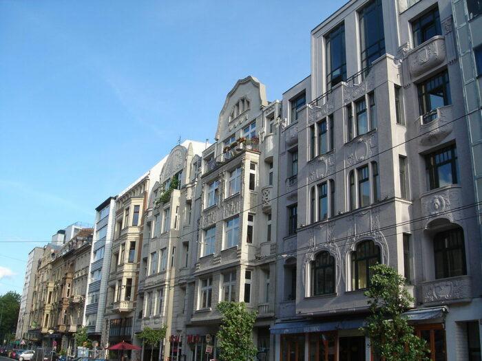 Belgian Quarter of Bordeaux via Wikipedia CC