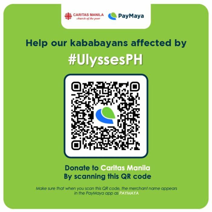 Caritas Manila via PayMaya