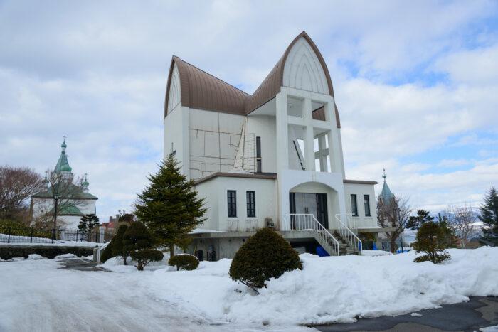 Cityscape of Motomachi district in Hakodate, Hokkaido photo via Depositphotos