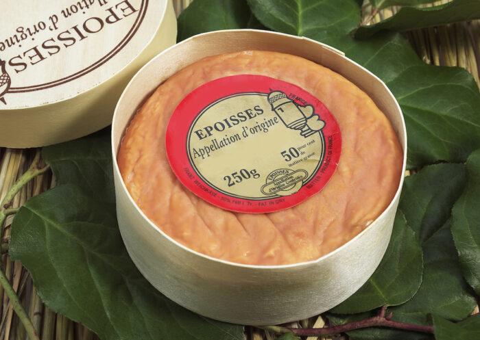 Epoisses, French Cow-Milk Cheese photo via Depositphotos