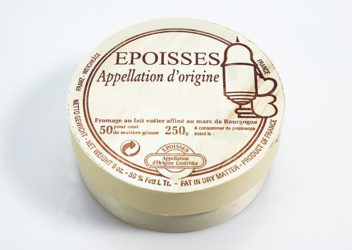 Epoisses de Bourgogne photo via Depositphotos