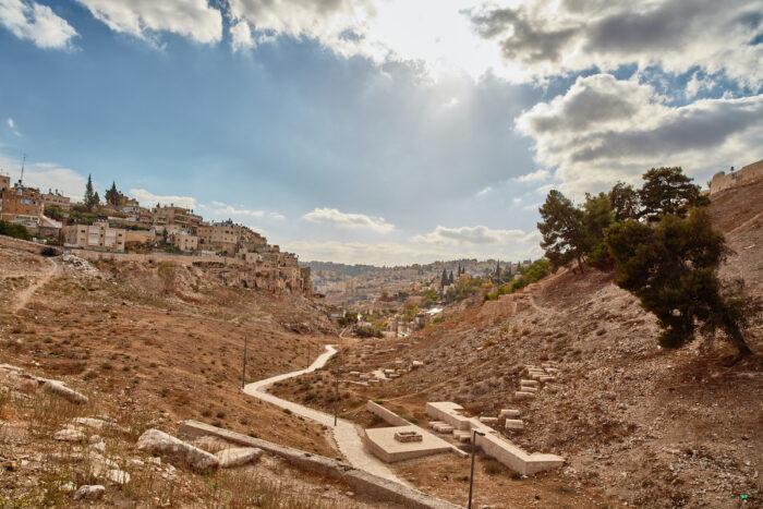 Famous Kidron valley, Jerusalem photo via Depositphotos