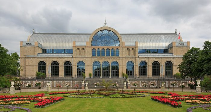Flora Botanical Garden Cologne by CEPhoto via Wikipedia CC