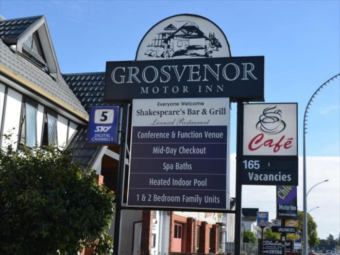 Grosvenor Motor Inn Hamilton New Zealand