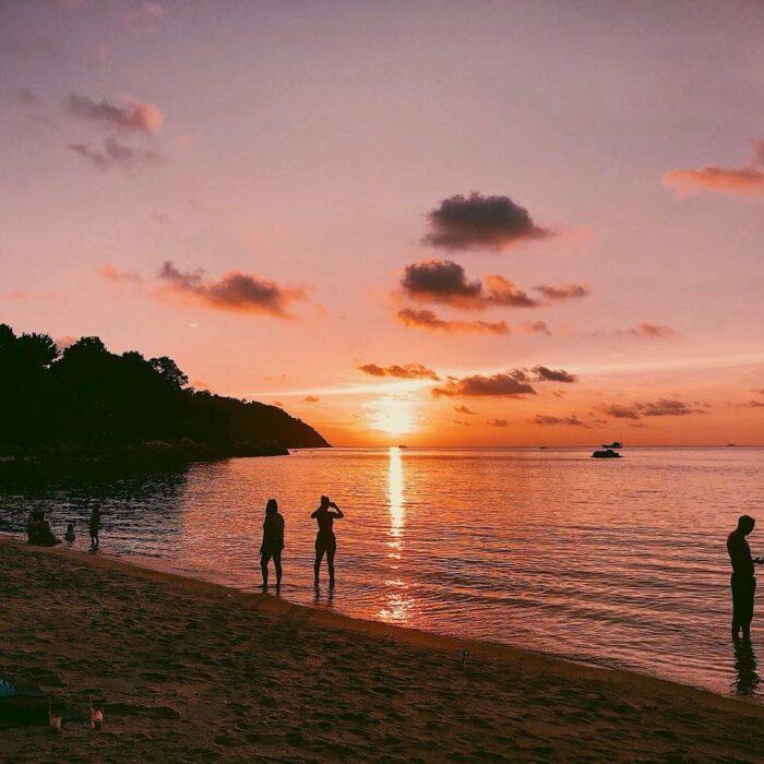 Koh Lipe Sunset photo via Bayview Sunset Resort Fb Page