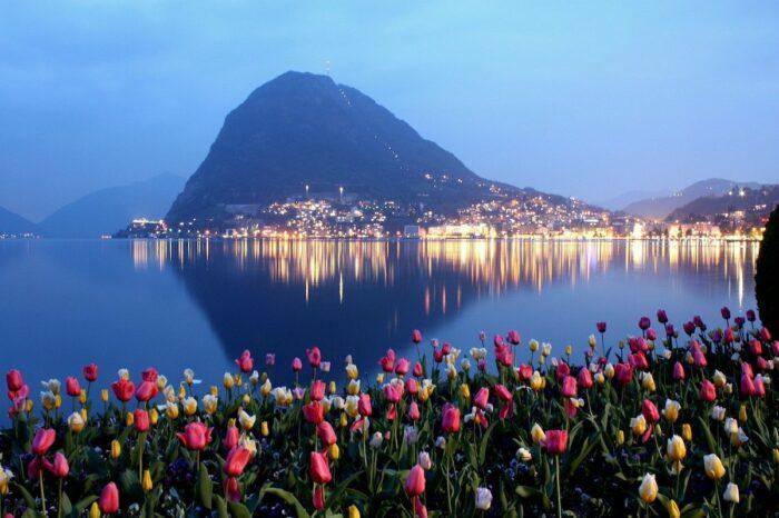 Lake Lugano photo via Pixabay