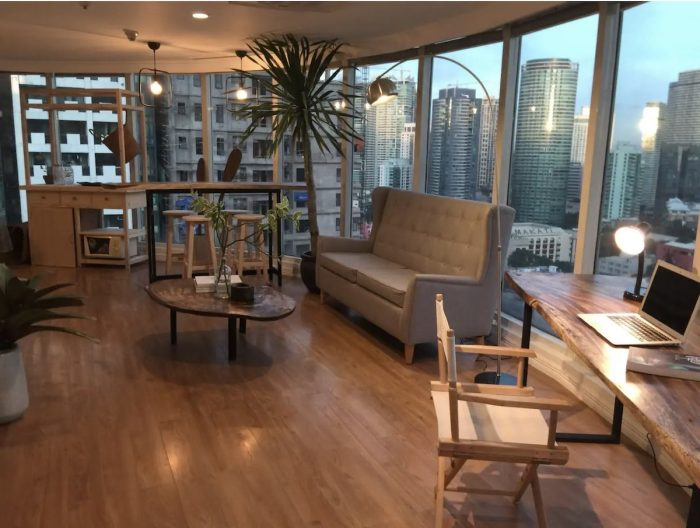 Makati Airbnb con vistas