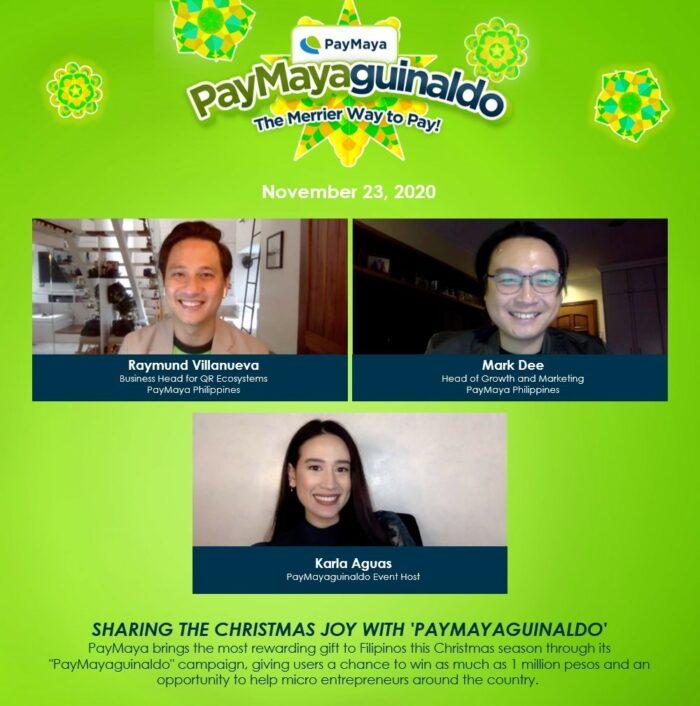 PayMayaguinaldo Partnership