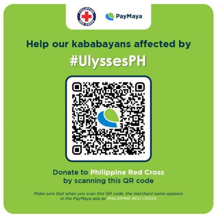 Philippine Red Cross via PayMaya