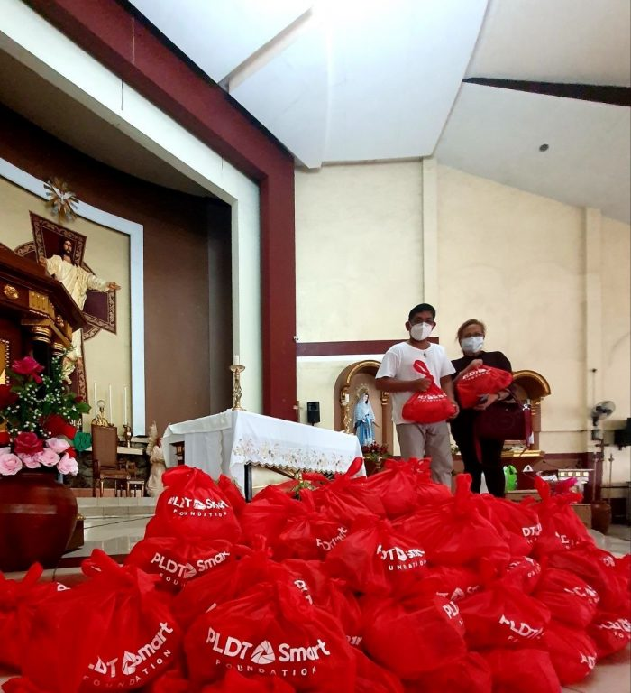 Pili, Camarines Sur PLDT and SMART Relief Operations