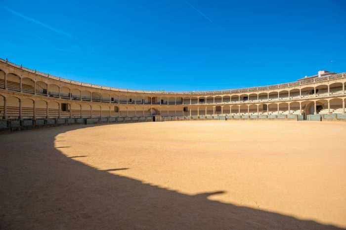 Plaza del Toros in Ronda photo via Depositphotos