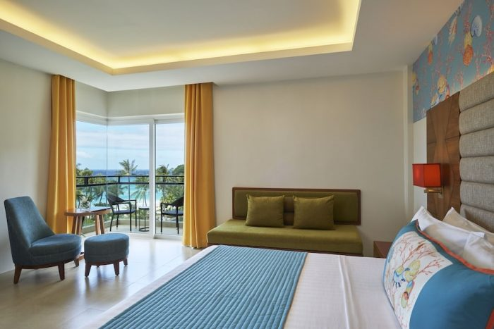 Premium Seaview Room at Movenpick Boracay