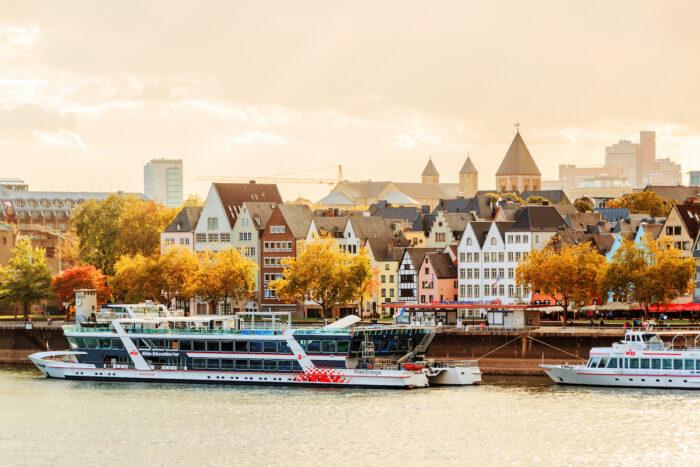 River cruise in Cologne Photo via Depositphotos
