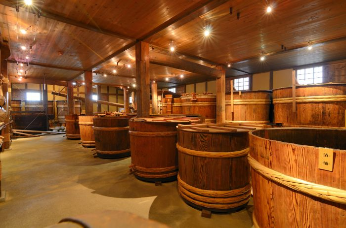 Sake Brewery in Kobe Japan photo via Depositphotos