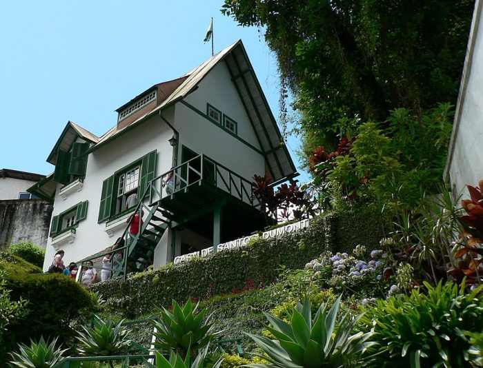 Santos Dumont House Museum by Alexandre Machado via Wikipedia CC
