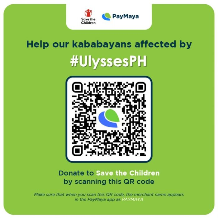 Save the Children via PayMaya
