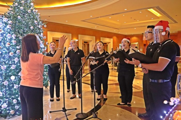 Sheraton Manila Bay Christmas Tree Lighting Community Choir