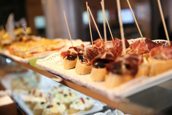 Spanish tapas photo via Depositphotos