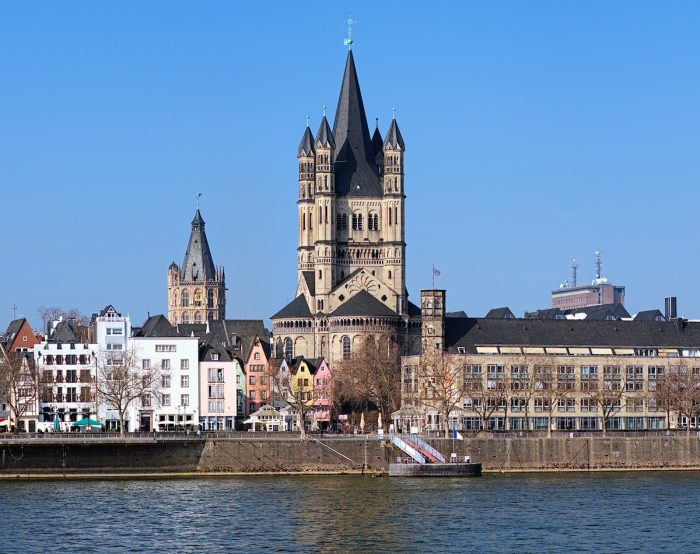 St. Martin Church in Cologne photo via Depositphotos