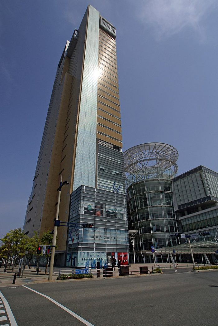 Takamatsu Symbol Tower by 663highland via Wikipedia CC
