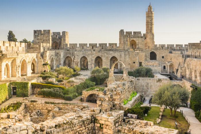 Tower of David photo via Depositphotos