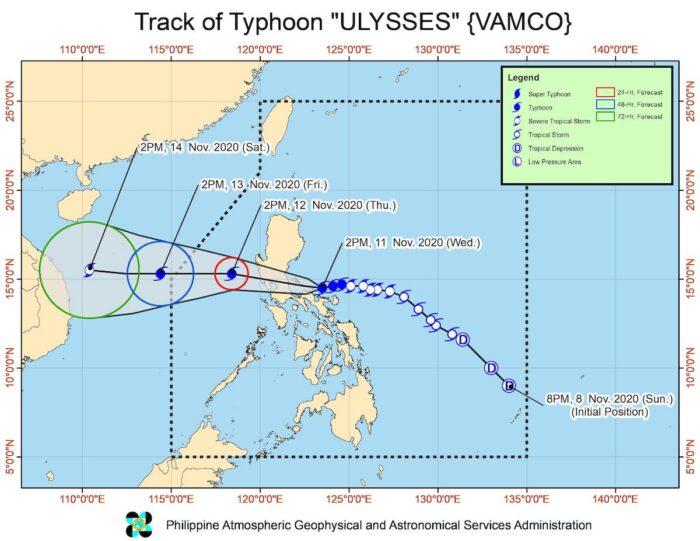 Typhoon Ulysses Weather Updates