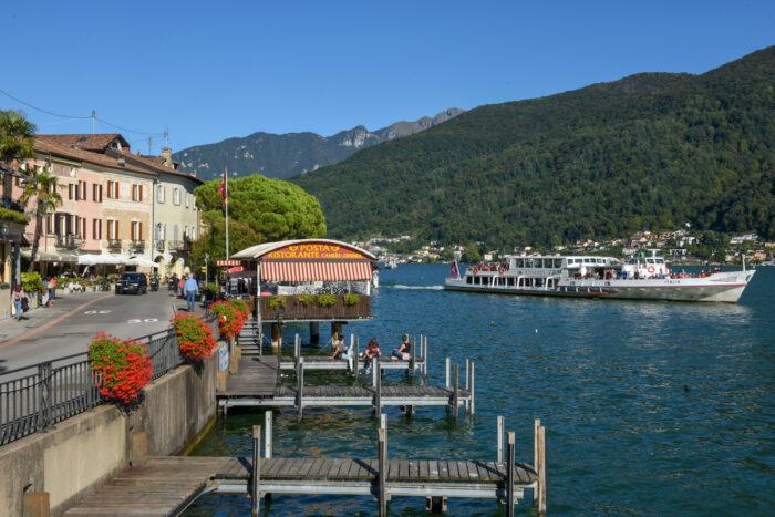 Vico Morcote Village in Lugano Switzerland photo via Depositphotos