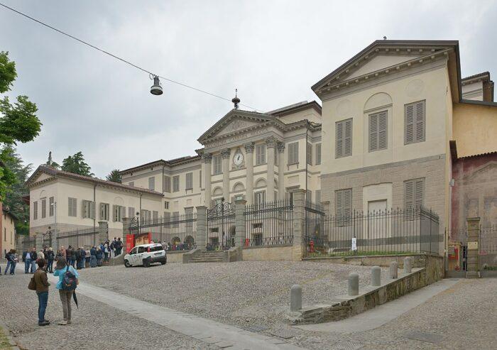Accademia Carrara por Wolfgang Moroder a través de Wikipedia CC