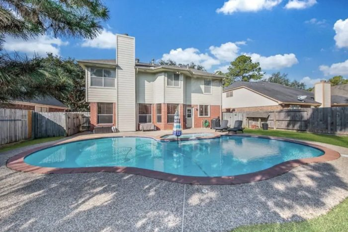 Airbnb Houston with Private Pool