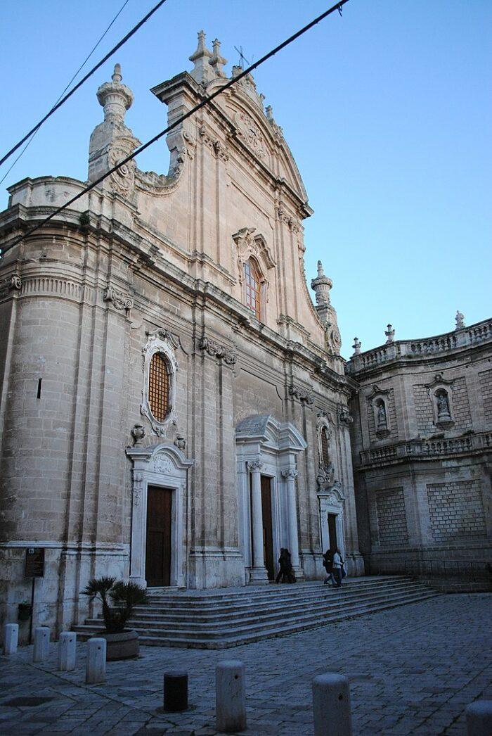 Basilica Cattedrale in Monopoli by Monopoli91 via Wikipedia CC