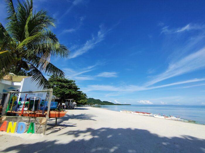 Beach in Anda Bohol