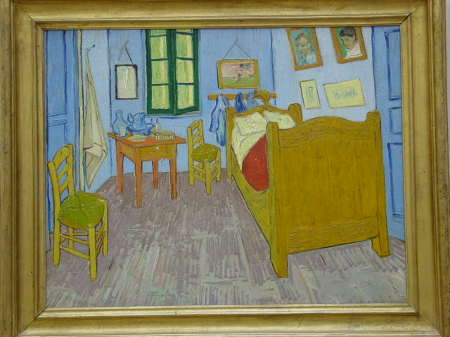 Bedroom in Arles by Vincent Van Gogh photo by Rodney via Flickr CC
