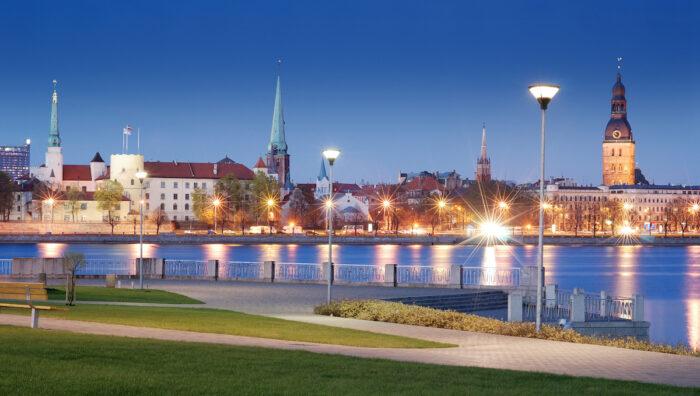 Daugava River photo via Depositphotos