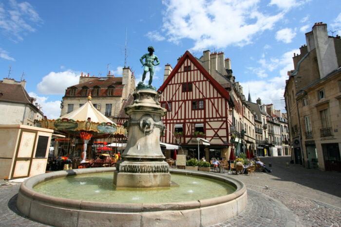 Dijon, France photo via Depositphotos