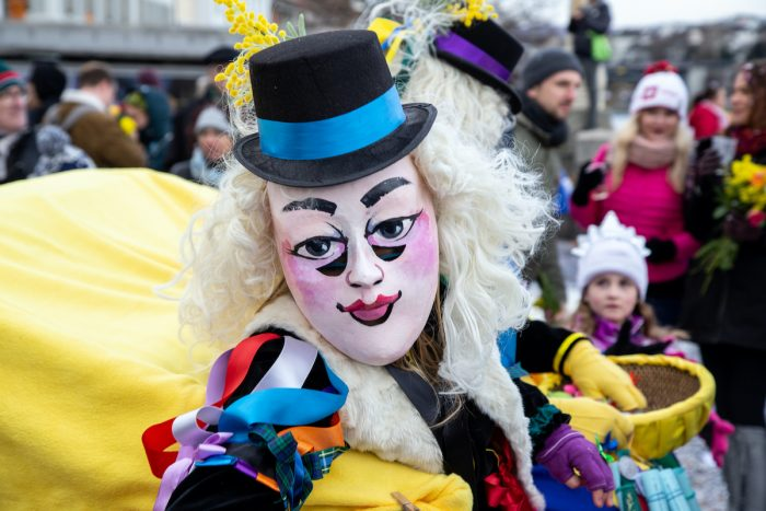 Fasnacht Festival in Basel photo via Depositphotos