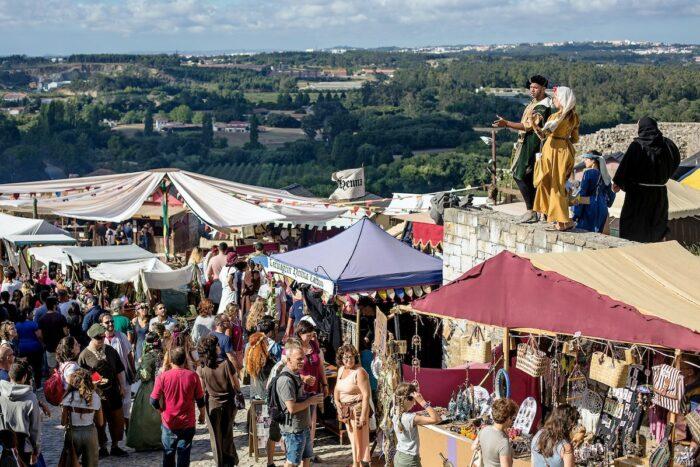 Grande Mercado Medieval de Obidos photo via Fb Page