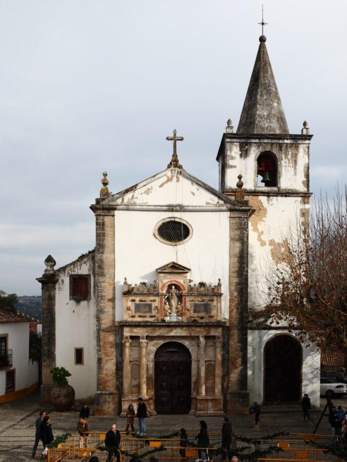 Igreja de Santa Maria in Obidos by Manuelvbotelho via Wikipedia CC