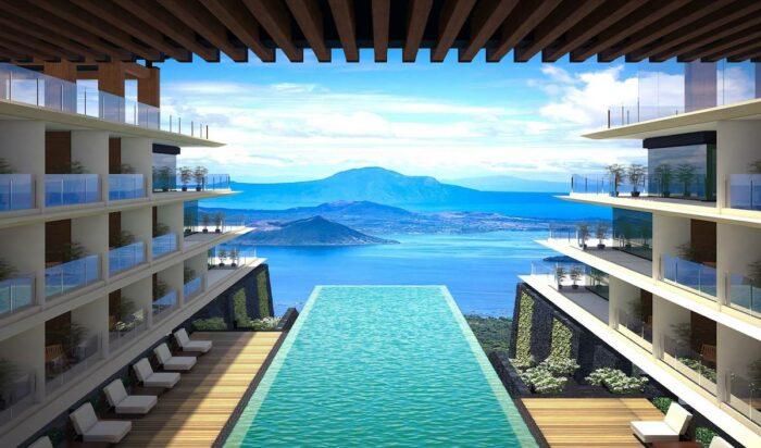 Infinity Pool at Escala Tagaytay photo via FB Page
