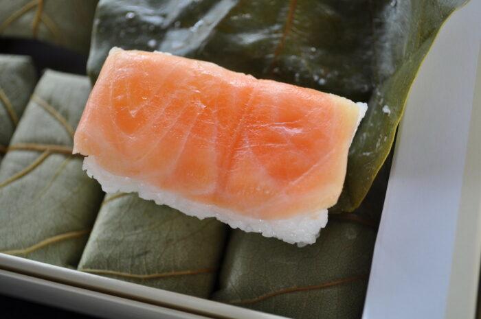 Kakinoha Sushi by cozymax via Flickr CC