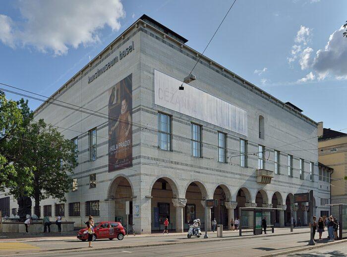 Kunstmuseum Basel Art Museum by Wladyslaw Sojka via Wikipedia CC