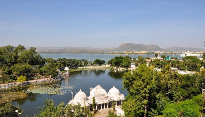 Lake Pichola in Udaipur India