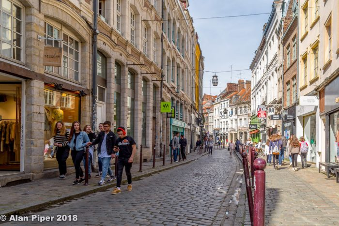 Lille Old Town by PapaPiper via Flickr CC